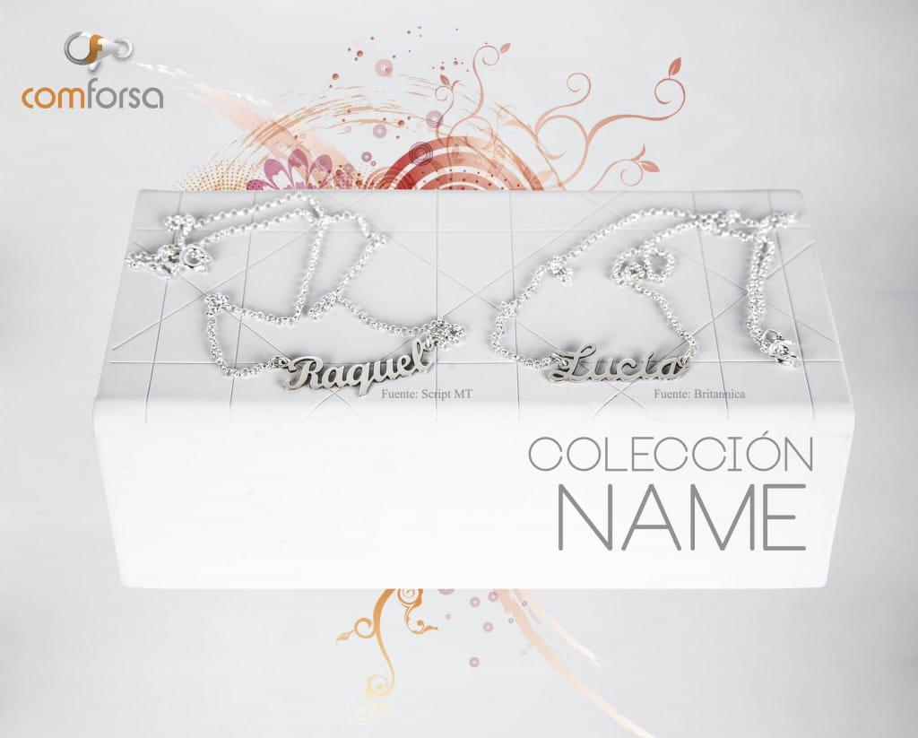 Colección NAME joyas personalizadas